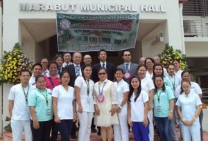 Memorial photo with Marabut Mayor